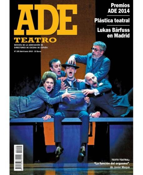 Revista ADE Teatro nº 155 (abril - junio)