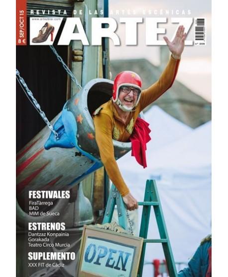 ARTEZ nº 206 (Septiembre/ Octubre 2015)