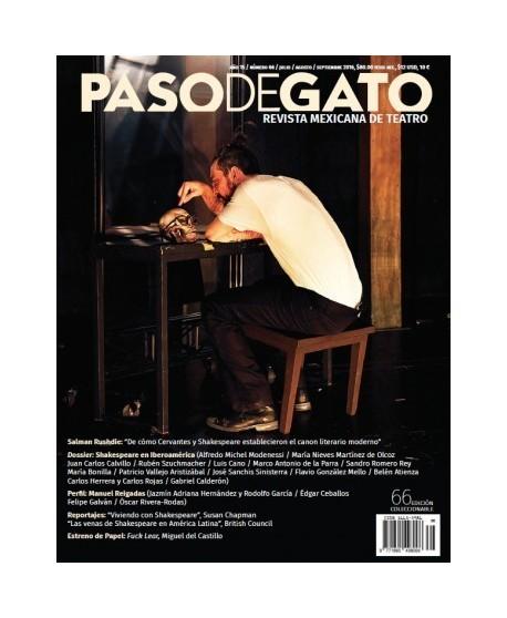 Paso de Gato. Revista Mexicana de Teatro Nº66 julio/agosto/septiembre 2016