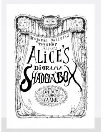 Caja de sombras Alicia en...