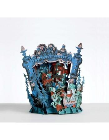 Hansel & Gretel tarjeta pop-up