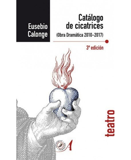 Catálogo de cicatrices (Obra dramática 2010-2017). 3ª Edición