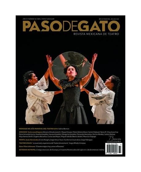 Paso de Gato. Revista mexicana de teatro. Nº73