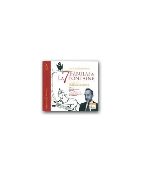 7 Fábulas de La Fontaine. CD cuento musical para niños