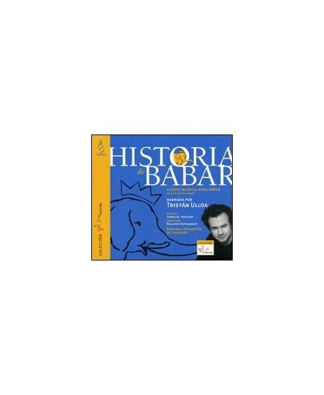Historia de Babar. CD cuento musical para niños