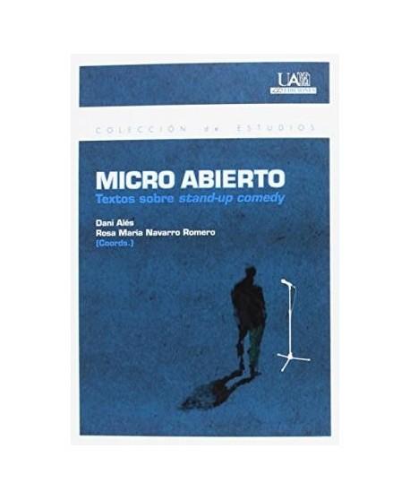 Micro abierto. Textos sobre stand-up comedy