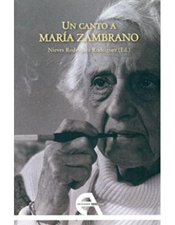 Un canto a María Zambrano