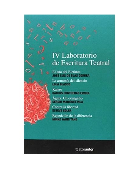 IV Laboratorio de Escritura Teatral
