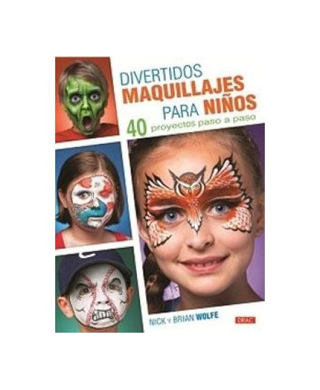 Divertidos maquillajes para niños