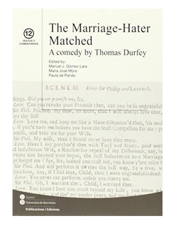 The marriage-Hater Matched