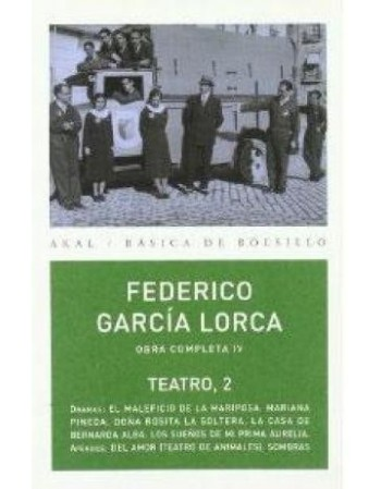 Federico García Lorca. Obra...