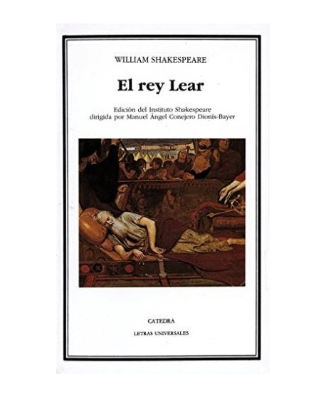 El rey Lear (ed. Instituto Shakespeare)