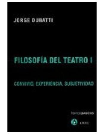 Filosofía del Teatro I....