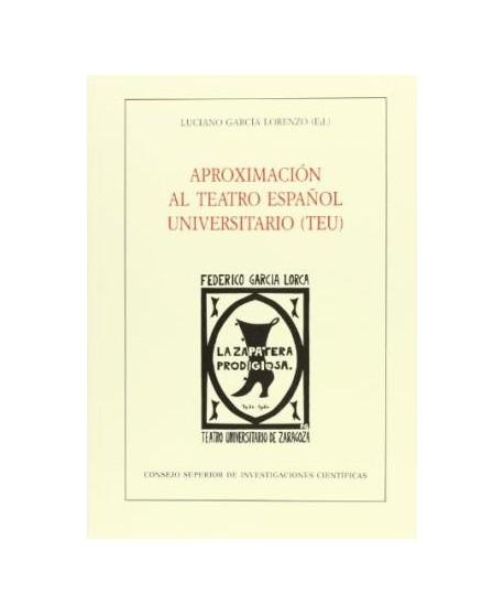 Aproximación al teatro español universitario (TEU)